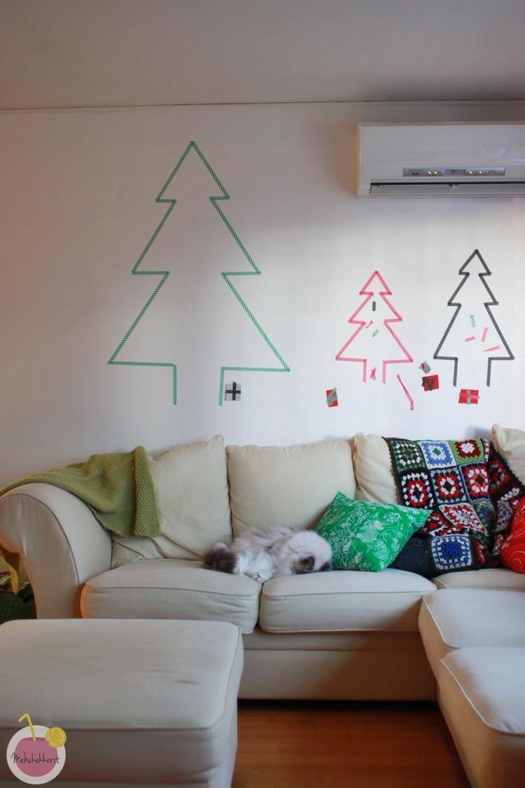 Teippikuusi (Blogiringin joulukalenteri)