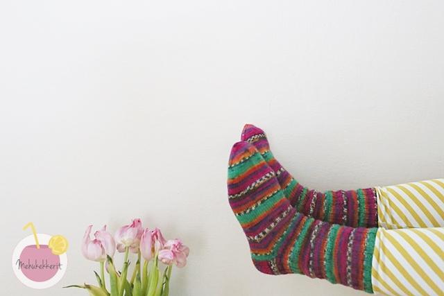 Hot Socks Paris sukat ja höyrytys