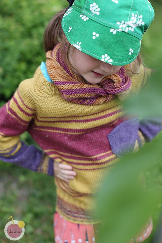 Ohje helppoon villapaitaan lapselle