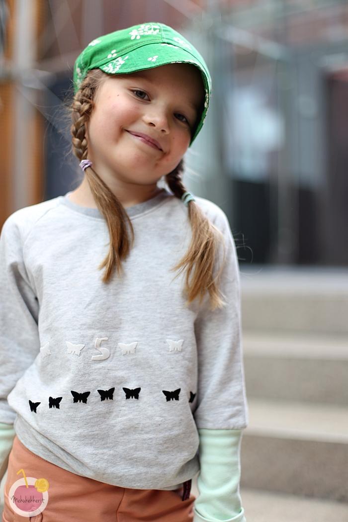 Lapsen suunnittelema paita