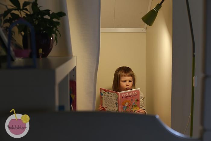 Lukunurkka lastenhuoneeseen