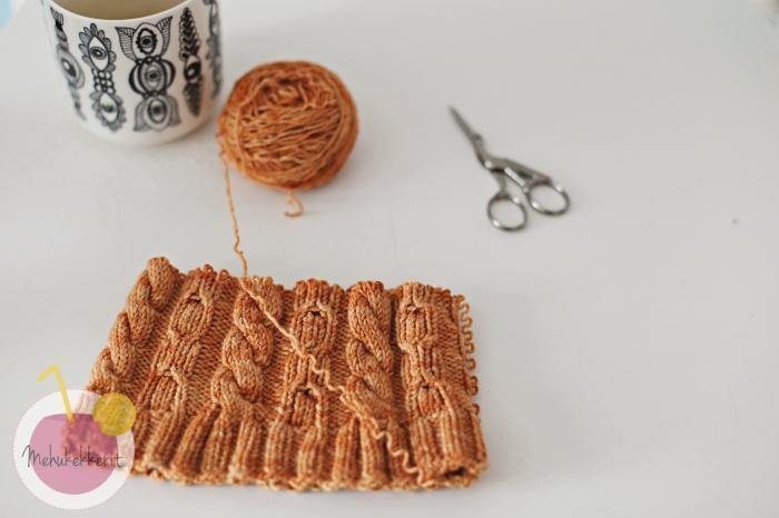 Vanhasta neuleesta kierrätetty lanka