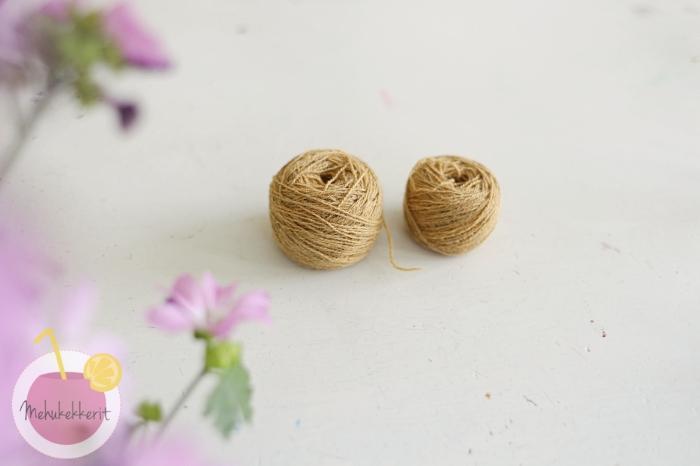 Kuinka tehdä lankakakkura, eli vyyhti kauniiksi keräksi