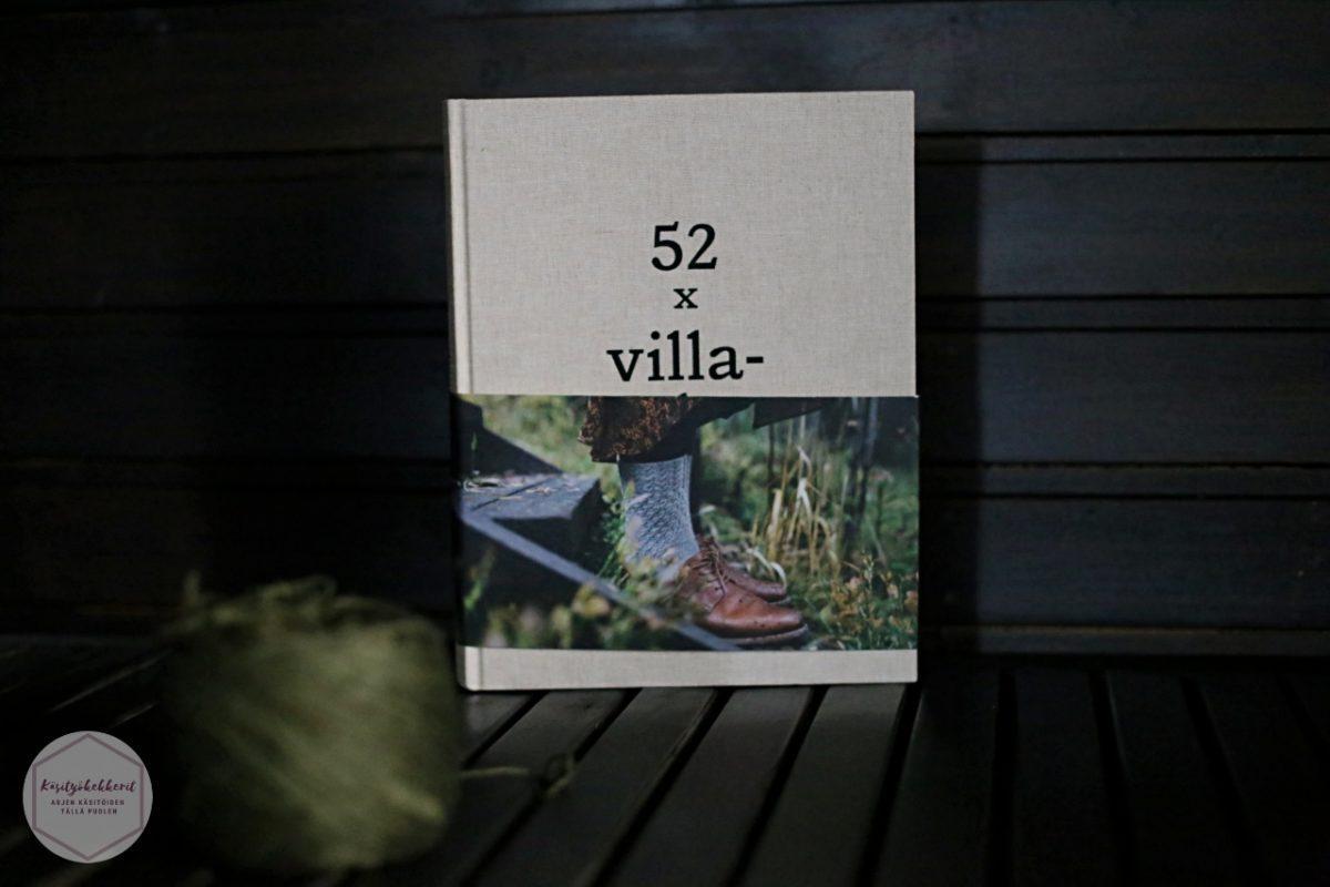 52 X Villasukat Kirja Sukkakirja