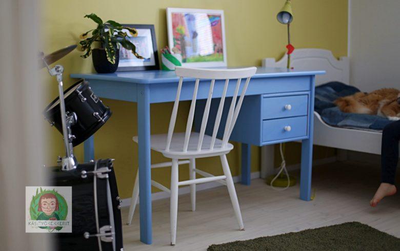 Lapsen Työpöydän Maalaaminen