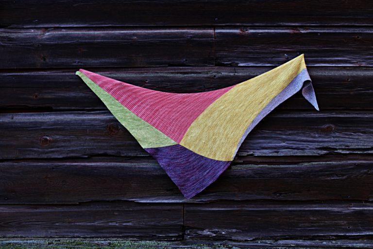 Kolmiohuivin ohje, Eloisalla-huivi