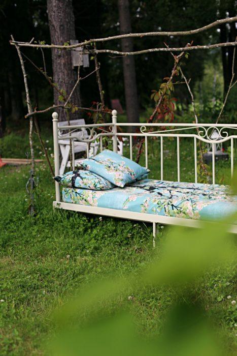 Kesäsänky Sängynpäällinen
