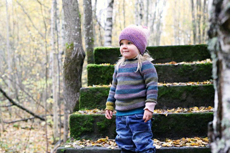 Kaarrokepaita lapselle ylhäältä alas, Nurin nurin-paita