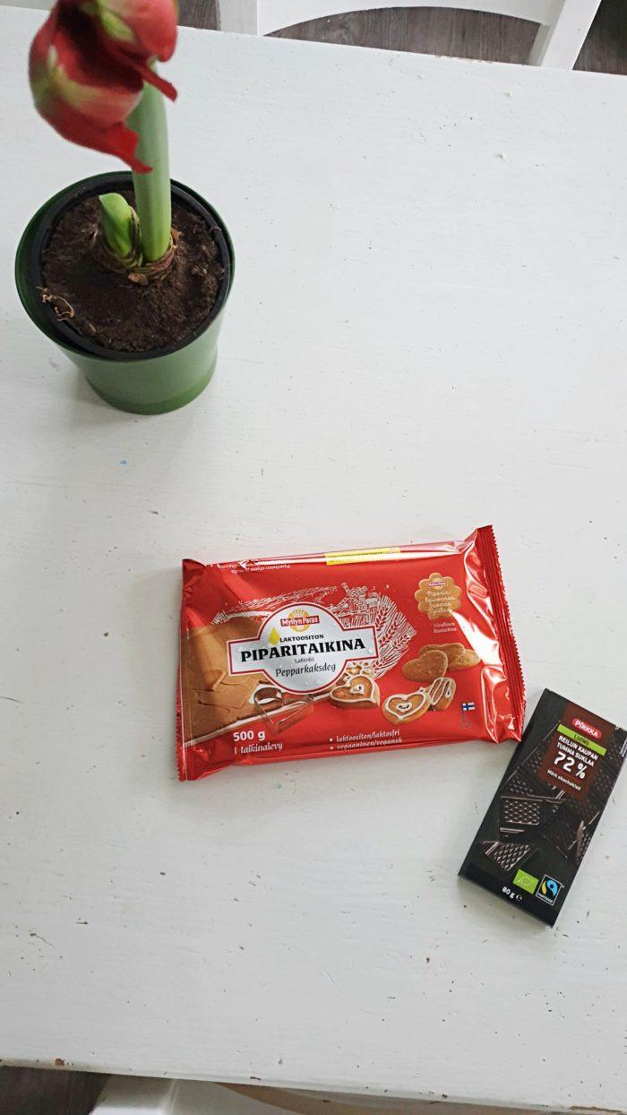 Vegaaniset Suklaapiparit Tarvikkeet